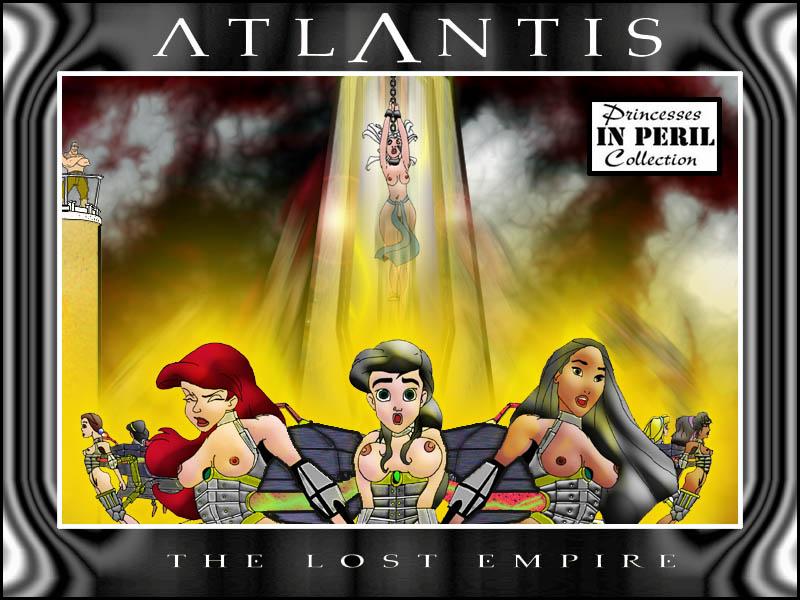 empire lost the atlantis Into the spider verse blurry