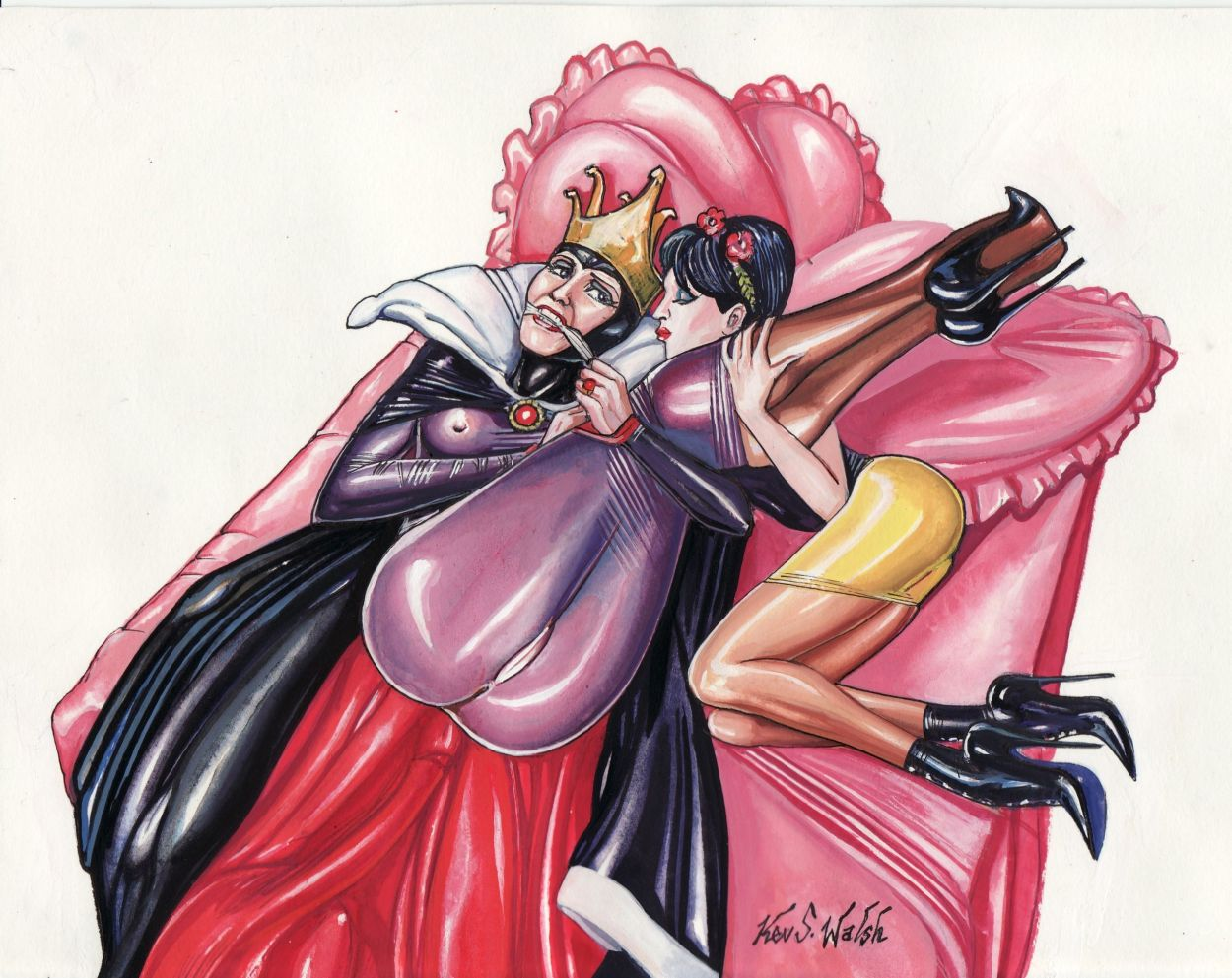 mage the the and demon queen Masou-gakuen-hxh