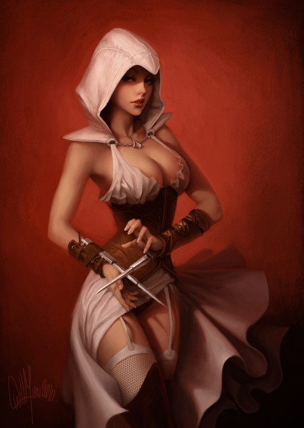syndicate assassin's evie creed hentai One finger selfie challenge images