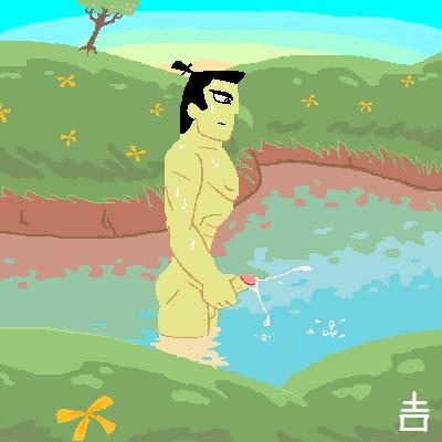 the priestess high jack samurai Komi-san_wa_komyushou_desu