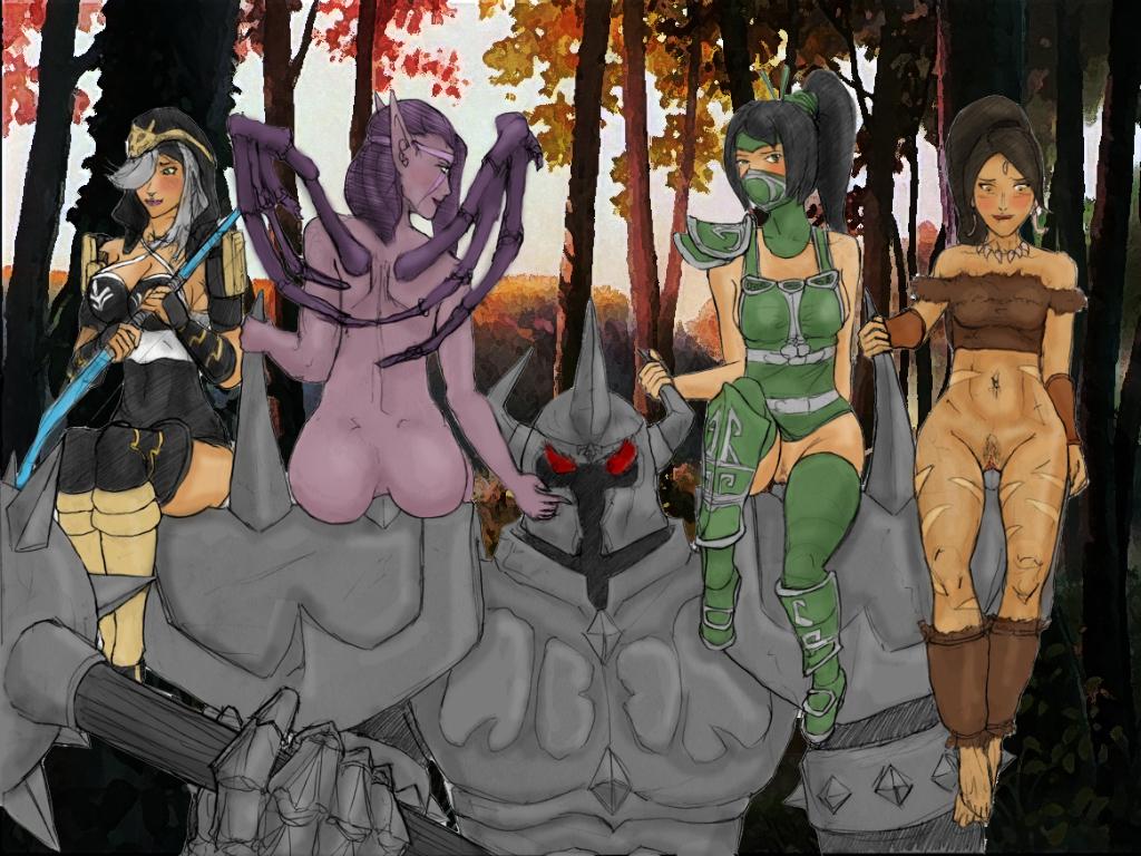 legends mountain league of drake G.i.b. girls in black
