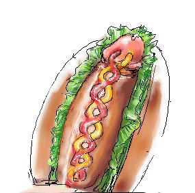 headphones meme with hot dog Mortal kombat 11