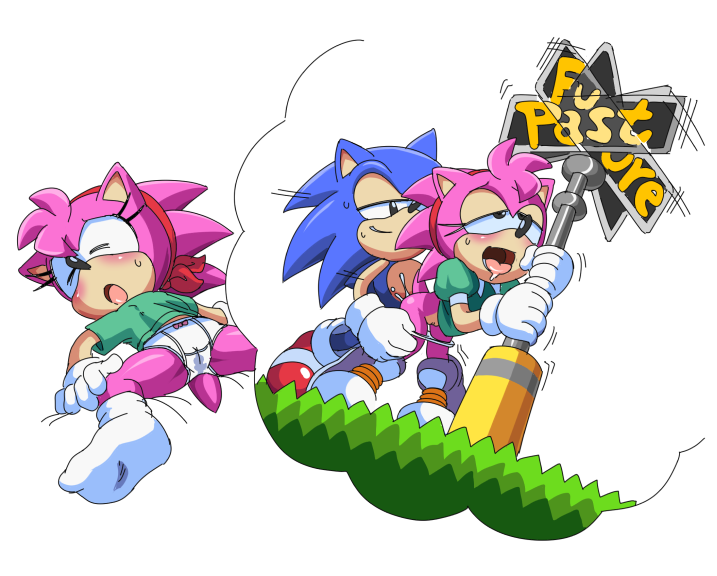 werehog sonic the tails the and werefox Princess robot bubblegum shiny wasabi kitty