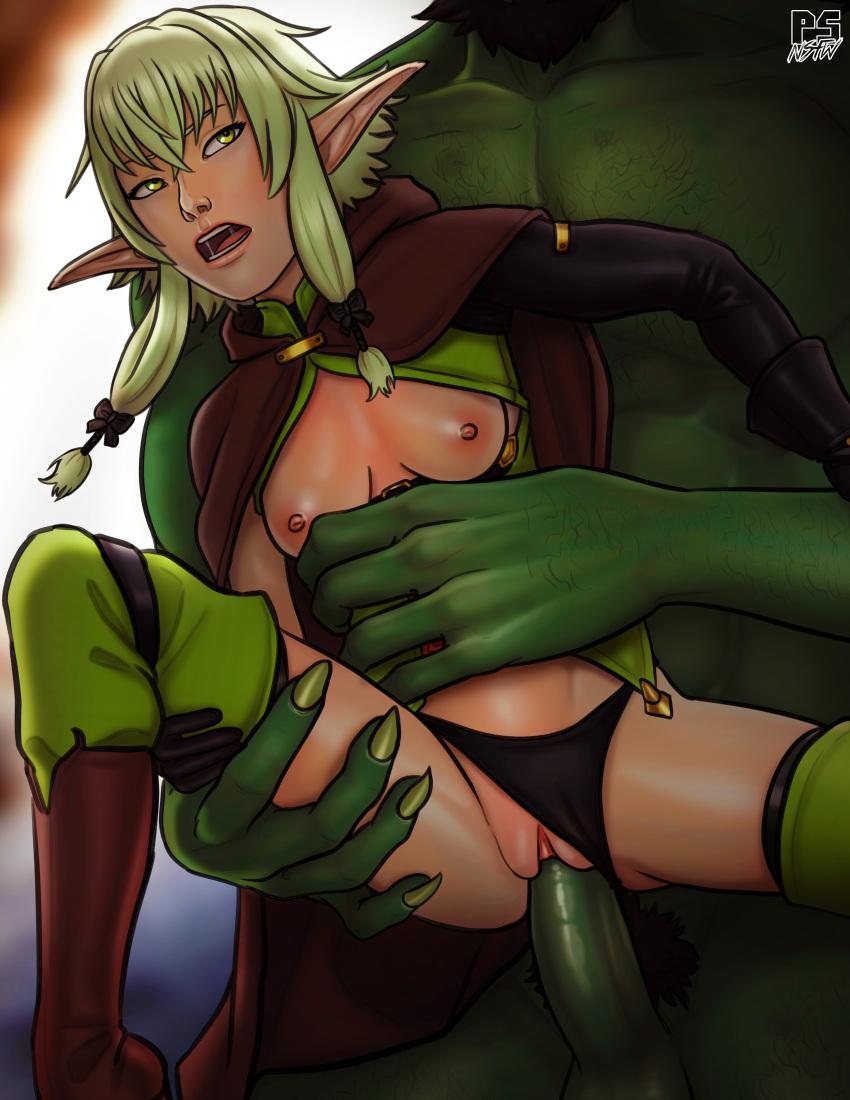 slayer elf goblin archer high rape Pokemon black and white xxx