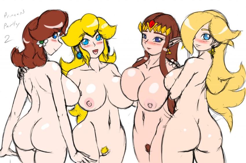 daisy rosalina peach and princess Avalanche x-men evolution