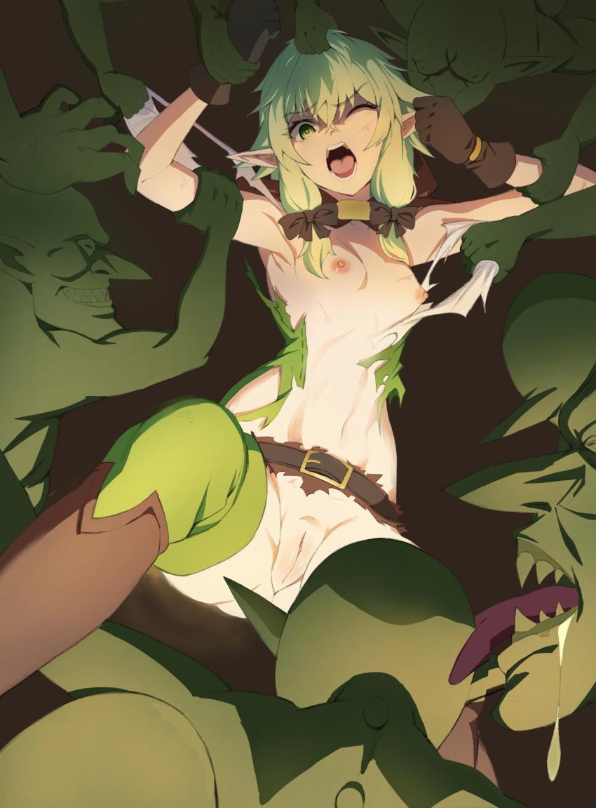 high goblin archer slayer rape elf Mega lopunny time to le