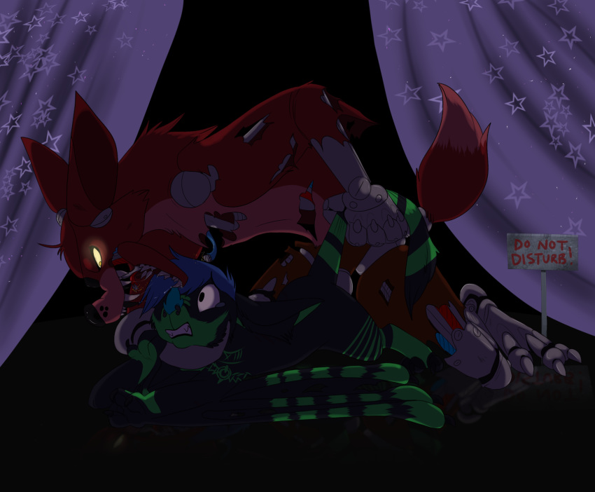 from five nights freddy's at fox Under her tail part 3