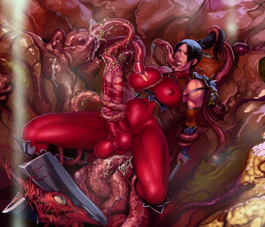 through tentacle the all way porn Maji de watashi ni koishinasai!!