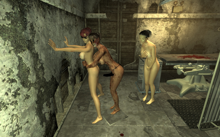 nude male vegas fallout new Mizugi kanojo: the animation