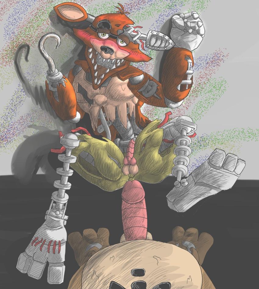 the muscle fox pirate foxy Himitsu no kichi de xxx