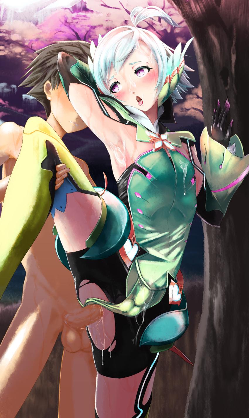 2 kos-mos chronicles xenoblade Good luck ninomiya-kun