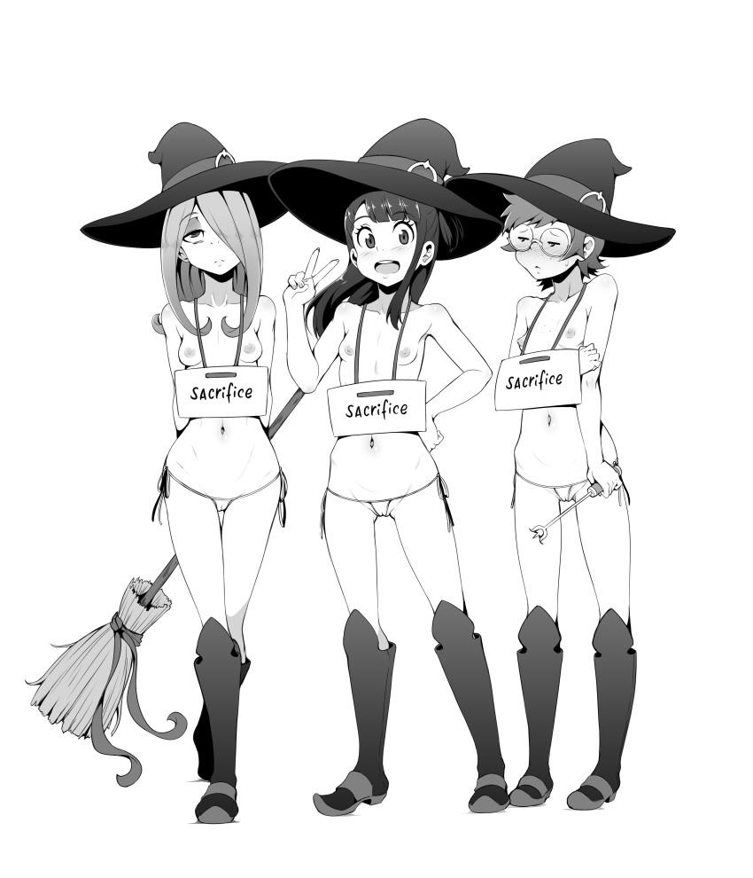 academia my little sucy witch Kurohime: shikkoku no yakata