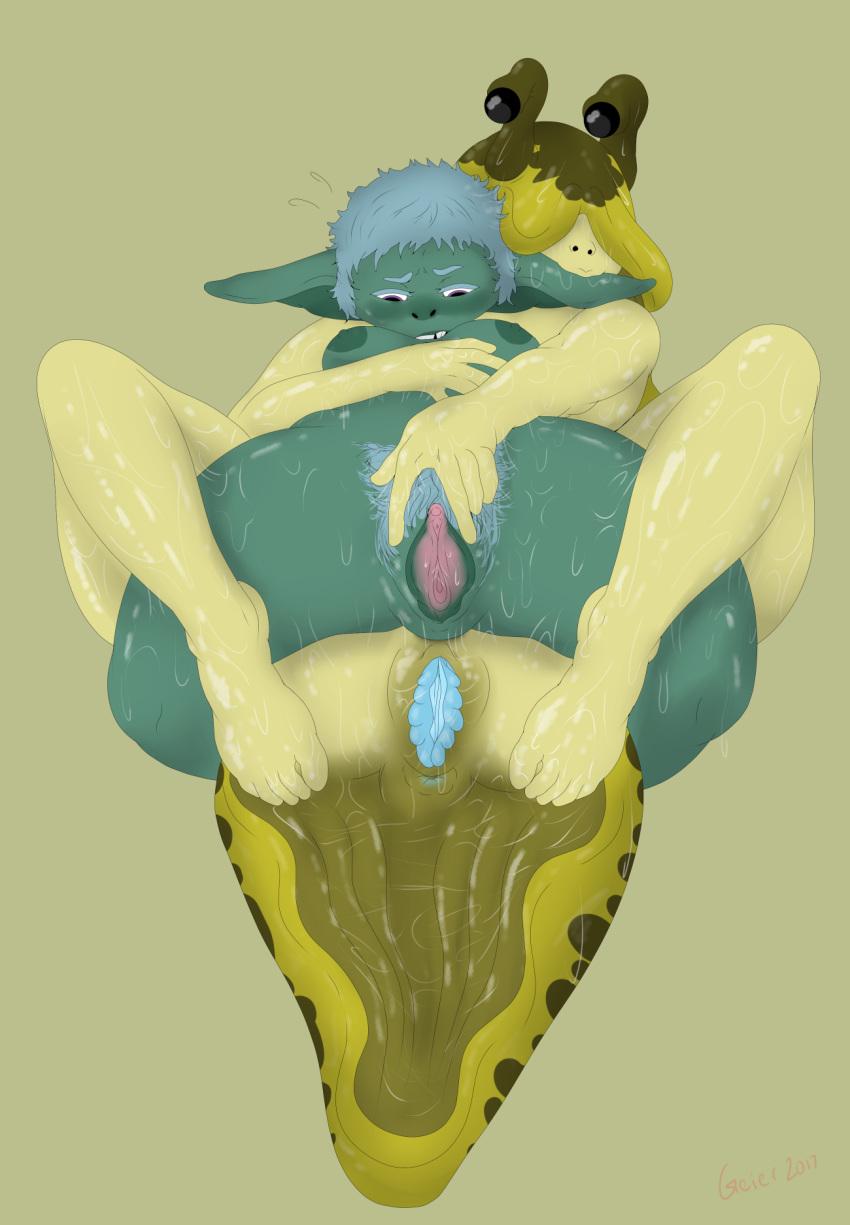 a girl slime reincarnated goblin as Harley quinn and catwoman xxx