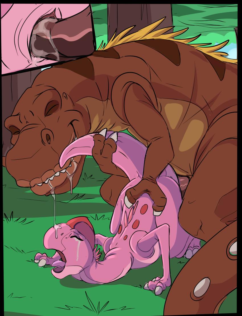 is dinosaur from yee what Ojousama wa h ga osuki: the animation