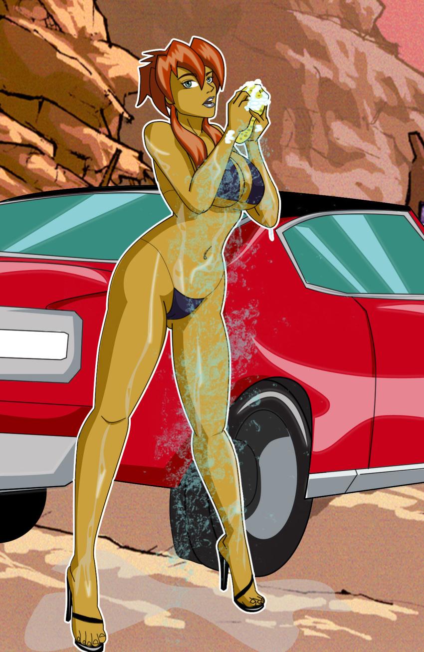 and peter wash car homer Aika r-16 virgin mission
