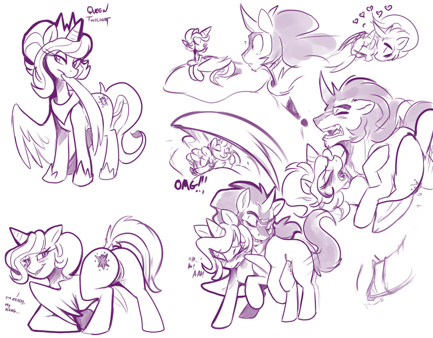 and my twilight pony king sombra little My little pony movie capper