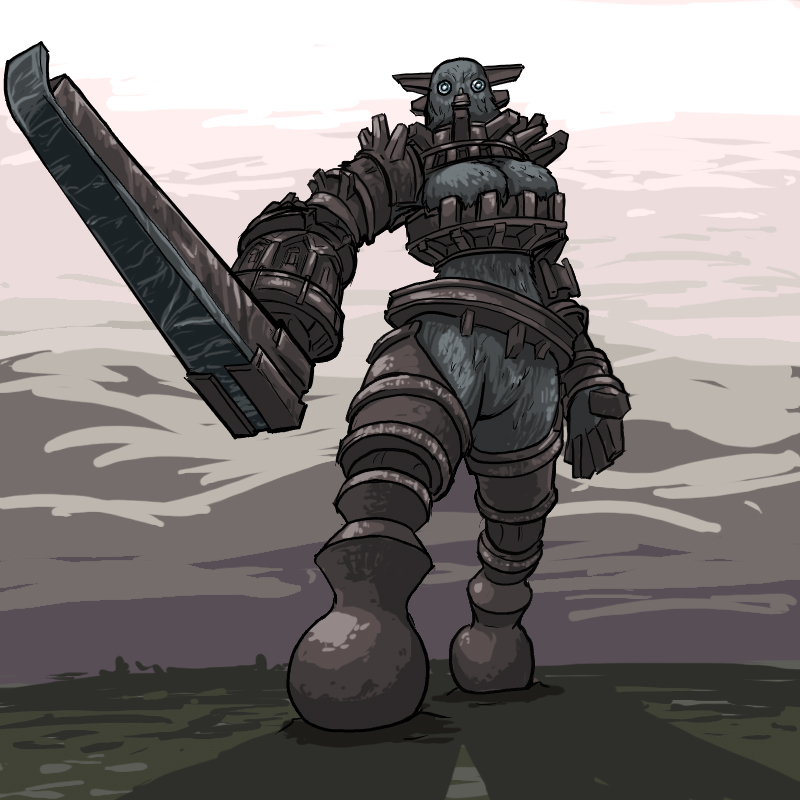 the shadow of colossus kuromori Maelstrom is this a zombie