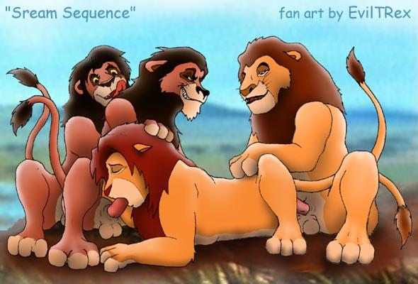 lion king and kovu kiara Leone akame ga kill nude
