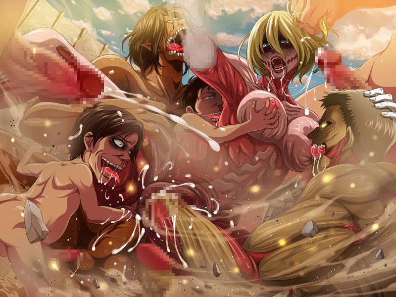 titan on genderbend attack eren Tuca and bertie